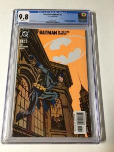 Detective Comics 742 Cgc 9.8 White Pages Batman 1st Crispus Allen