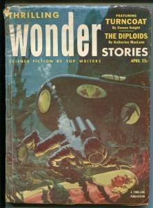 THRILLING WONDER STORIES 4/1953-SCI-FI PULP-PHILIP JOSE FARMER-JACK COGGINS-/fr