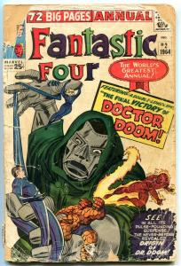 Fantastic Four AnnualL #2 1964 -Dr Doom Origin- Reading Copy FAIR