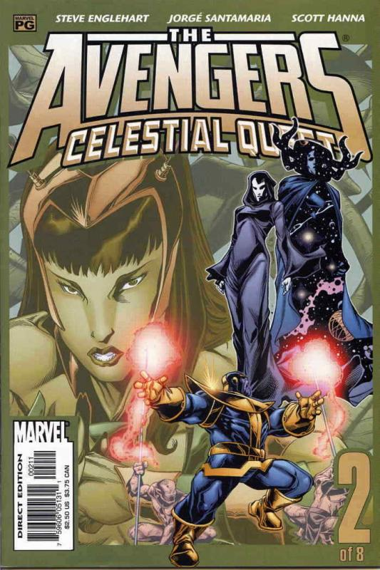 Avengers, The: Celestial Quest #2 VF/NM; Marvel | save on shipping - details ins