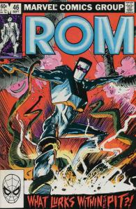 Rom #46 VF/NM; Marvel   save on shipping - details inside
