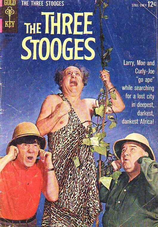 Three Stooges, The #18 (Jul-64) GD/VG Affordable-Grade Larry, Moe, Curly-Joe