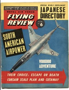 Royal Air Force Flying Review March 1961- incomplete