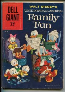 UNCLE DOONALD AND HIS NEPHEWS FAMILY FUN #38-1960-DELL GIANT-CARL BARKS-good