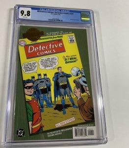 Millennium Edition Detective Comics 225 Cgc 9.8 White Pages Dc Comics