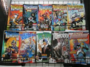 Doctor Tomorrow (Valiant 1997) #1-6, 8-10, 12 Bob Layton's Time Travel Commando