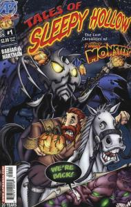 Tales of Sleepy Hollow: The Lost Chronicles of I Hunt Monsters #1 VF/NM; Antarct