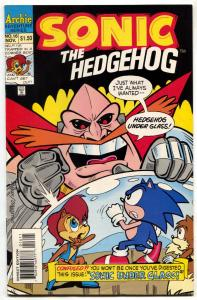 SONIC THE HEDGEHOG #16 1994-Archie Comics-Sega F/VF