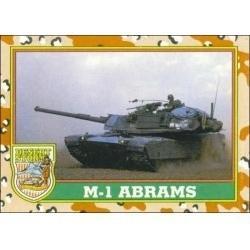 1991 Topps Desert Storm M-1 ABRAMS #43