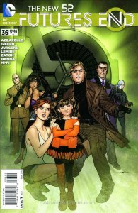 New 52, The: Futures End #36 VF/NM; DC | save on shipping - details inside
