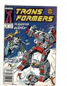 The Transformers #51 (1989) J603