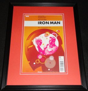 Invincible Iron Man #1 Marvel Framed Cover Photo Poster 11x14 Official Repro