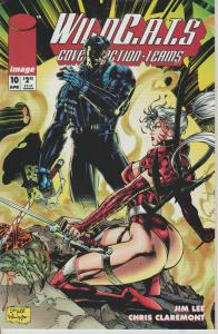 WILDCATS #10 - COVERT ACTION TEAMS - IMAGE - BAGGED & BOARDED