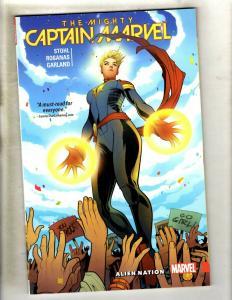 Alien Nation Vol. # 1 Captain Marvel Comics TPB Graphic Novel Comic Book J337
