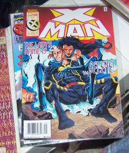 X-MAN  #  7 sept  1995  NATE GRAY young  cable selene hellfire club