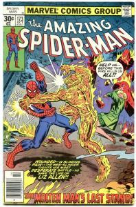 Amazing Spider-Man #173 1977- Molten Man's Last Stand F/VF