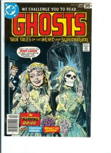 Ghosts #63 - Bronze Age - (VF) April, 1978