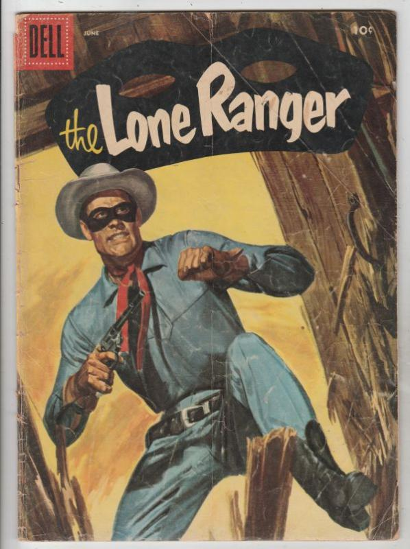 Lone Ranger, The #96 (Jun-56) VG+ Affordable-Grade The Lone Ranger, Tonto, Si...