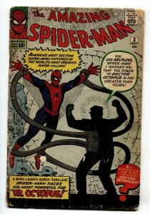 Amazing Spider-Man #3 comic book First appearance of Doctor Octopus Marvel - 196
