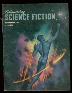ASTOUNDING SCIENCE-FICTION SEPT 1947-L RON HUBBARD-fine/very fine FN/VF