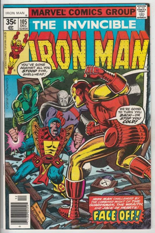 Iron Man #105 (Dec-77) NM/NM- High-Grade Iron Man
