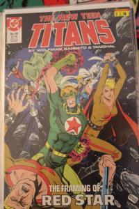 New Teen Titans 49 NM
