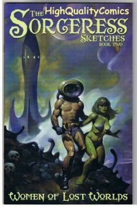 SORCERESS SKETCHBOOK 2, NM, Limited, Mike Hoffman, 2002, more Good Girl in store