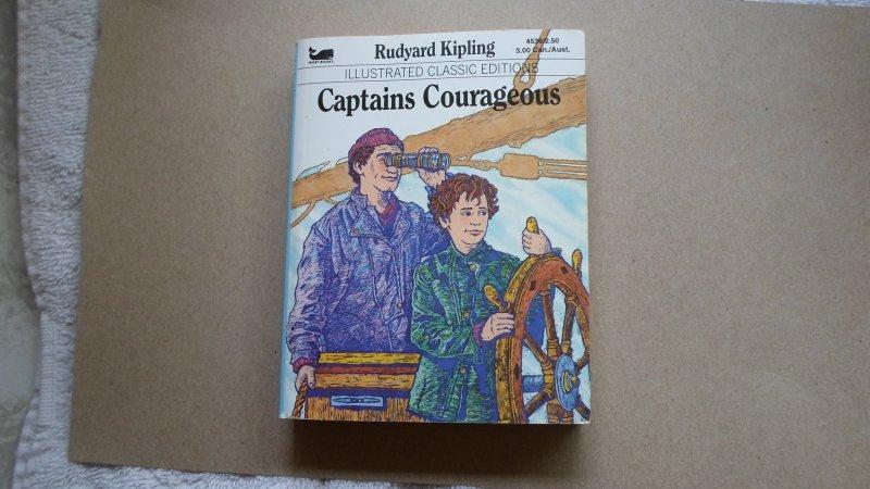 RUDYARD KIPLING ILLUSTRATED CLASSIC ED. CAPTAINS COYRAGEOUS