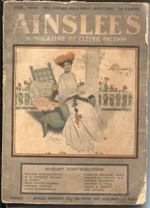 Ainslee's 4/1903-Thomas Mitchell Pierce-ealy pulp fiction-G/VG