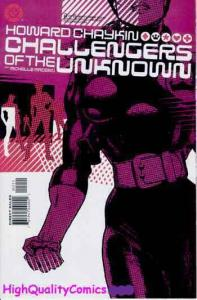 CHALLENGERS of the UNKOWN #1 2 3 4 5 6, NM+, Howard Chaykin, Hero