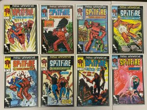 Spitfire and the Troubleshooters set #1-13 avg 8.0 VF (1986-89)