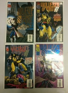 Wolverine Gambit Victim set from:#1-4 all 4 different books 8.0 VF (1995) Marvel