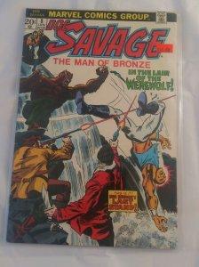 Vtg Marvel Comics Doc Savage The Man Of Bronze #8 VG FN 1973