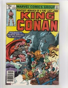 CONAN the KING #2, VF, Buscema, 1980, Robert Howard, Marvel, more in store