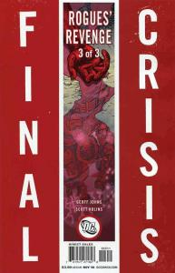 Final Crisis: Rogues' Revenge #3A VF/NM; DC | save on shipping - details inside