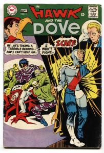 Hawk And The Dove #1 FN 1968 DC Comics-1st Issue-steve Ditko