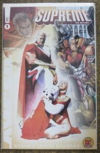 SUPREME: THE RETURN #1 DYNAMIC FORCES EXCLUSIVE Awesome Comics 1999 vf-nm