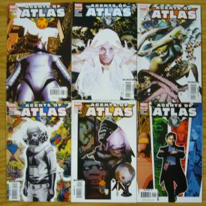 Agents of Atlas #1-6 VF/NM complete series - marvel comics - jeff parker set