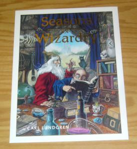 Seasons of Wizardry Portfolio by Carl Lundgren - signed/numbered (#1868 of 2000)