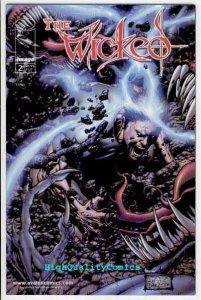 WICKED #2, Martinez, Takenaga, Image, 1999, NM+