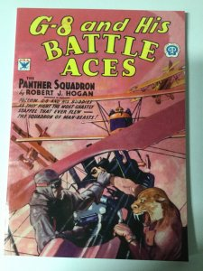G-8 And His Battle Aces 12 Nm Near Mint Pulp Reprint Adventure House