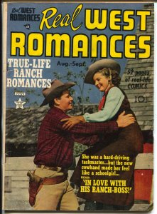 Real West Romances #3 1949-Prize-Gail Davis cover-Simon & Kirby-Severin-VG