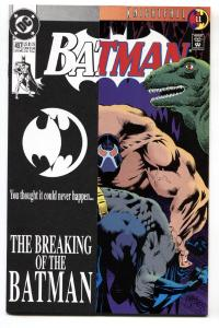 BATMAN #497-1993-BANE-comic book HIGH GRADE