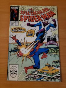 Spectacular Spider-Man #144 Direct Market Edition ~ NEAR MINT NM ~ 1988 Marvel