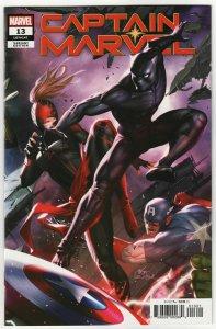 Captain Marvel #13 Inhyuk Lee Connecting Variant (Marvel, 2020) NM