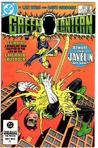 Green Lantern #173 (1960 v2) Len Wein 1st Javelin NM