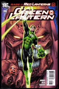 Green Lantern #36 (3rd Series) Rage of the Red Lanterns 9.4 NM