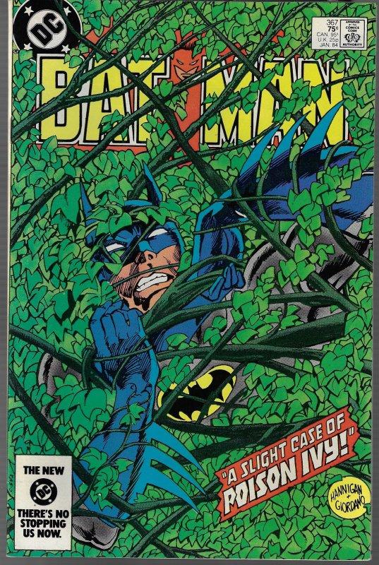 Batman #367 (DC, 1984) NM