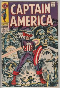 Captain America #107 (Nov-68) FN+ Mid-High-Grade Captain America