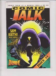 Comic Talk #1 VF/NM huge interview with SAM KIETH (29 pages) maxx art 1993 rare